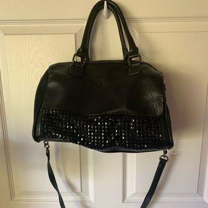 Handbags - Dream Control black stud bag